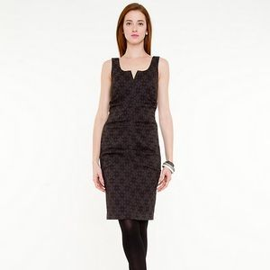 ♟NWT Size XS Black Jacquard Cocktail Dress